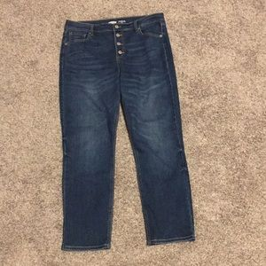 simple old navy jeans!